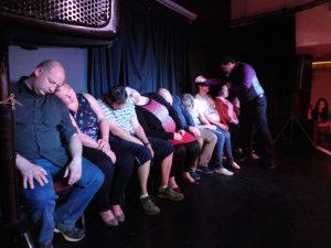 stage hypnotist